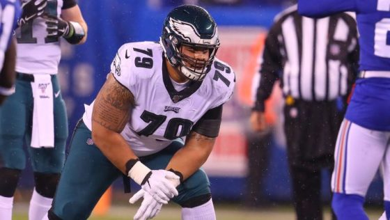 Eagles have discussed Brandon Brooks trade